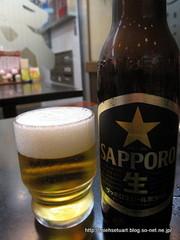 サッポロ黒ラベル小瓶