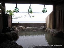 湯元 漁火館女湯露天風呂