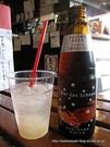 梨サイダー&カニビール