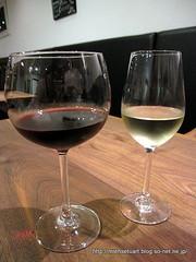 グラスワイン赤&白