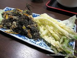 もずく&島らっきょうの天ぷら