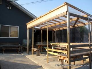 ルーラル カプリ農場ベンチ