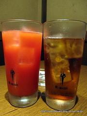 トマト酎ハイ&ウーロン茶