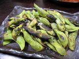 黒豆の枝豆炭火焼き