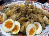 阿波尾鶏の煮卵添え