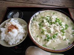 湯し豆腐セット(大)