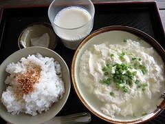 湯し豆腐セット(小)