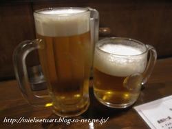 オリオン生ビール&キリンハートランド