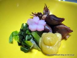 ホタル烏賊と分葱の酢味噌和え