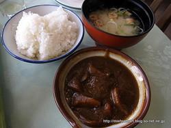 ご飯&味噌汁&カレー